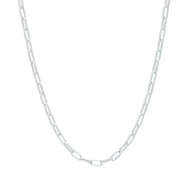 ali grace jewelry sterling silver paperlink chain custom design necklace charm necklace