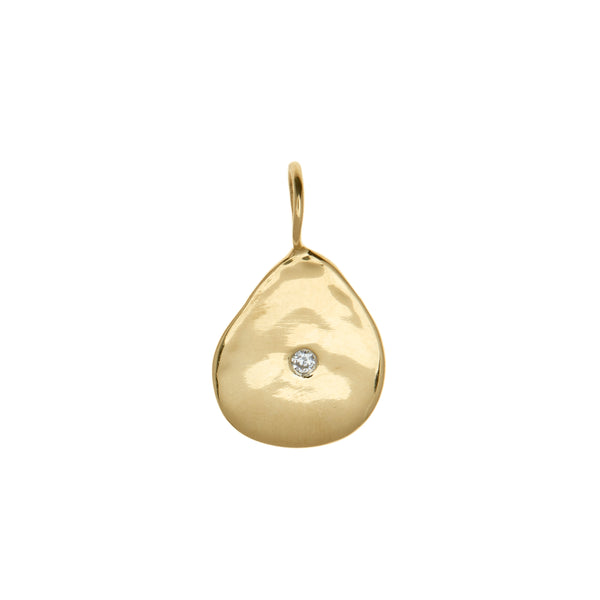 diamond gold fine jewelry charm necklace vogue barneys