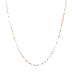 rose gold chain necklace mens chain necklace delicate chain necklace for layering
