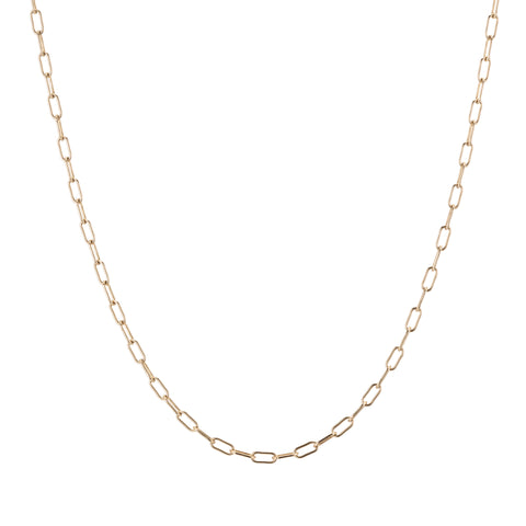 paperlink gold chain necklace fine jewelry like jennifer fisher