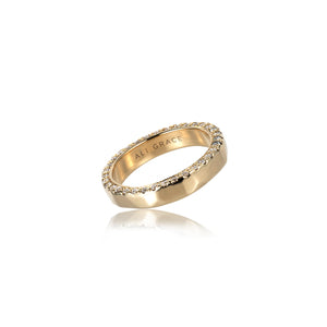 ali grace jewelry diamond band alternative wedding band ring