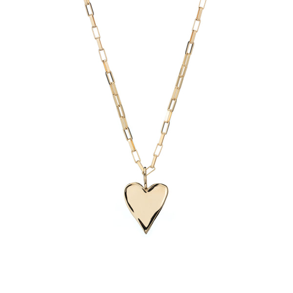 gold heart charm custom charm necklace gold chain ali grace jewelry holiday gift guide
