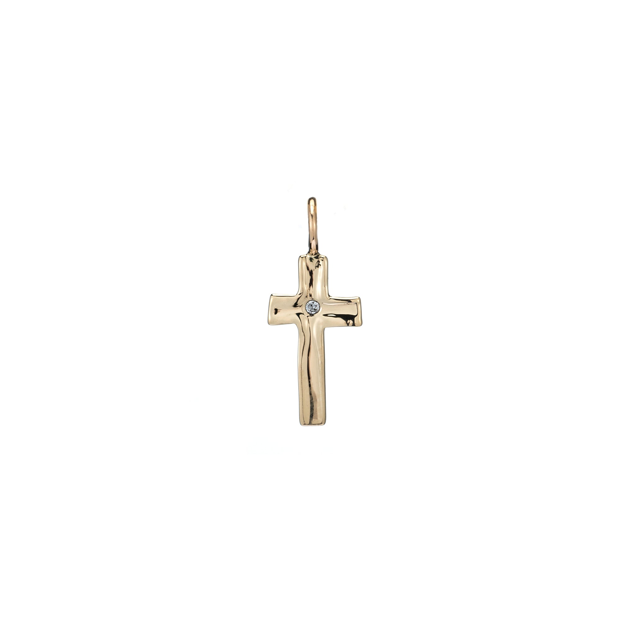 cross charm necklace gold diamond cross necklace christmas gift guide