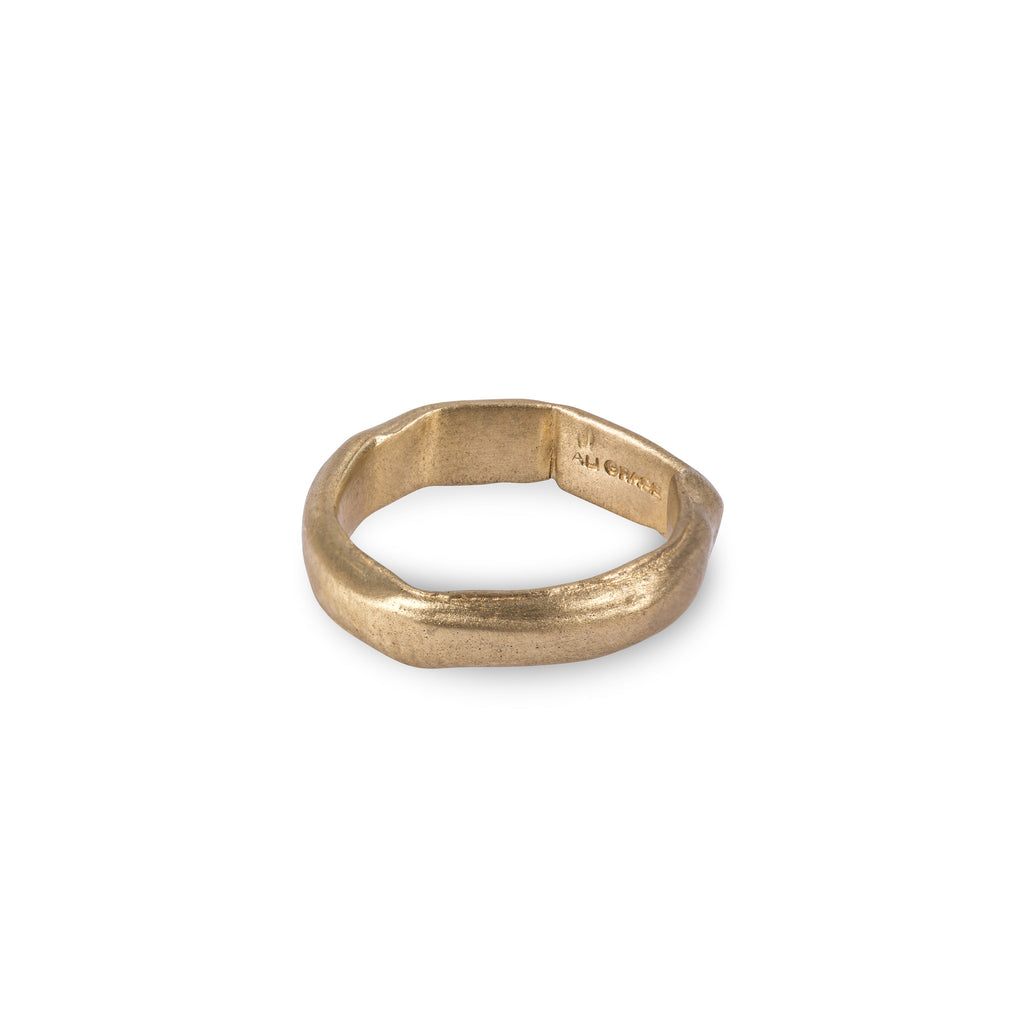 Brass Plain Ring