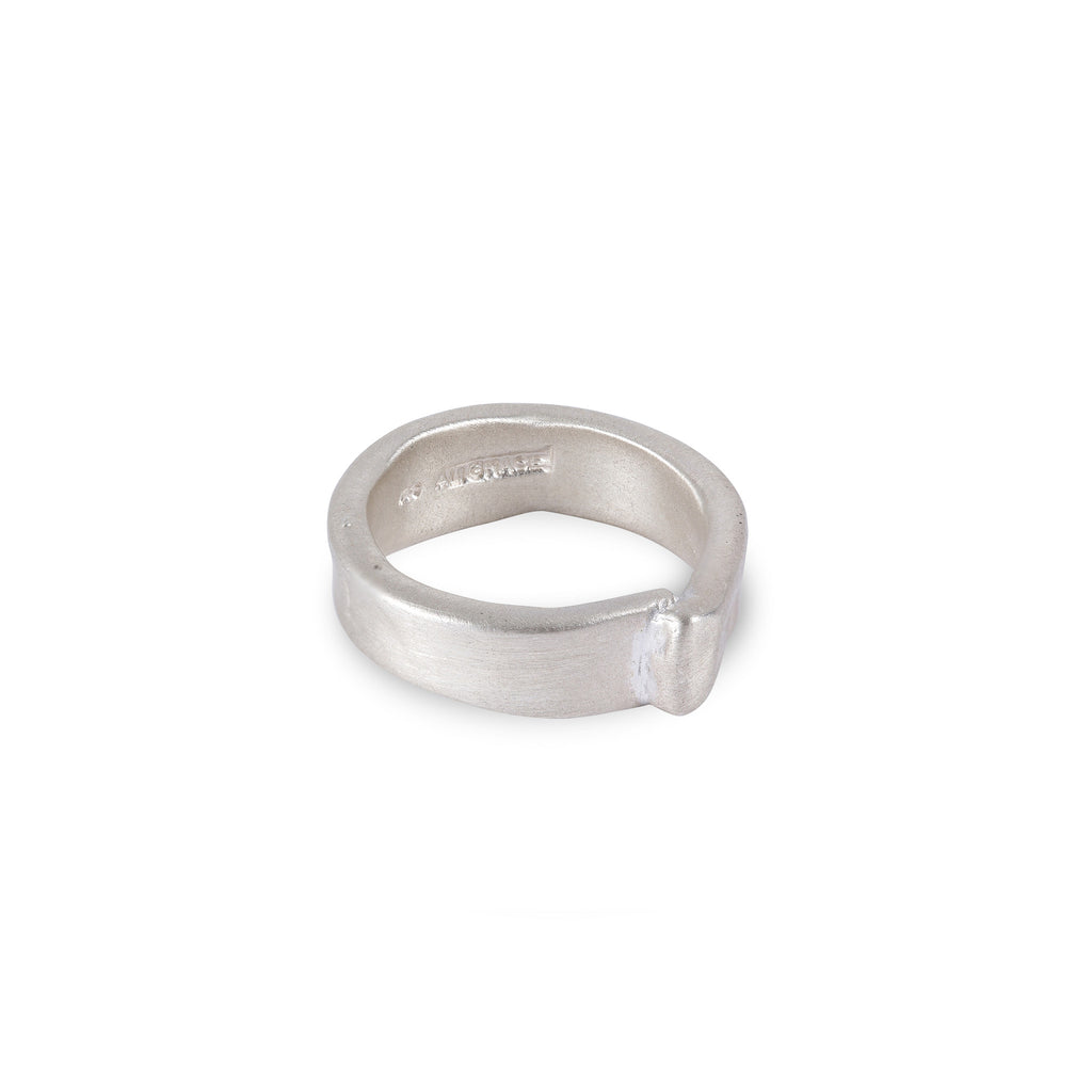 Sterling Silver Overlap Ring