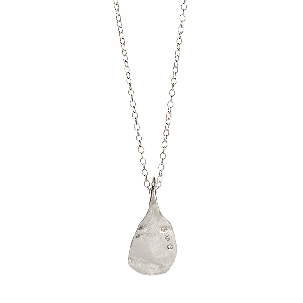 Diamond & Sterling Pendant