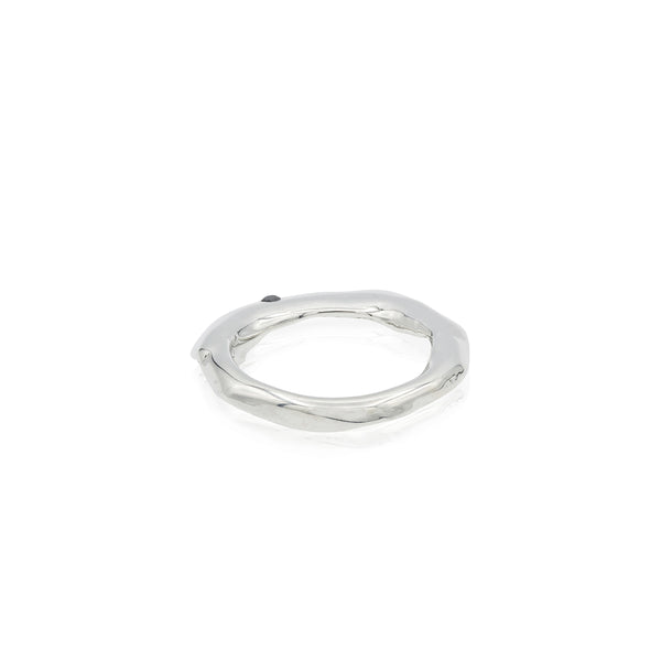 diamond ring silver fashion handmade in new york usa barneys blogger style