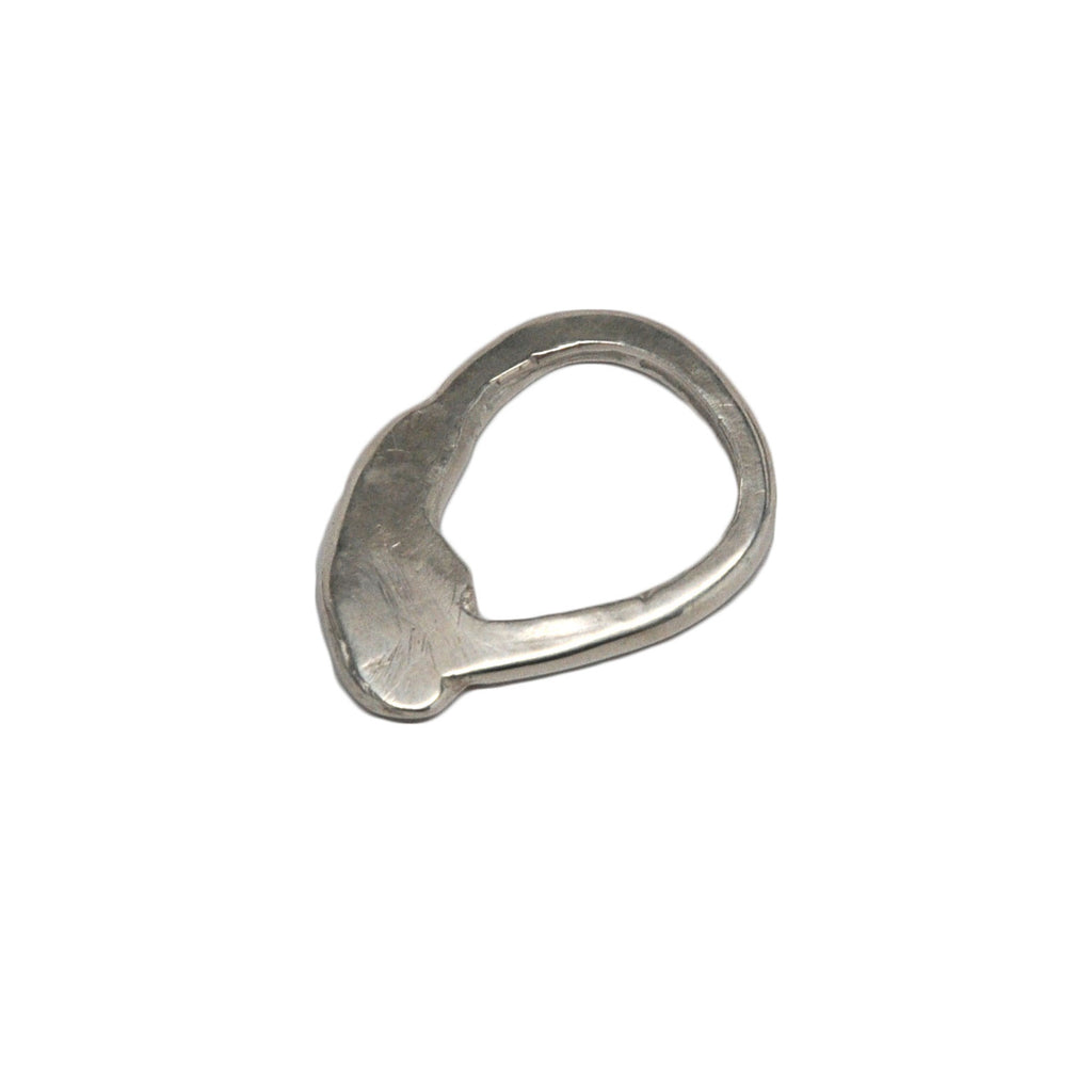 Sterling Silver Tab Ring