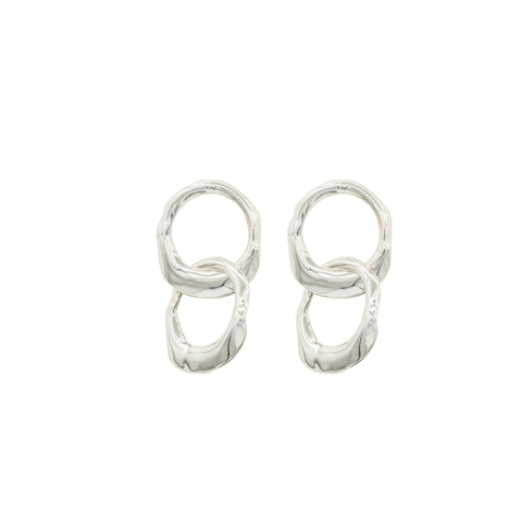 sterling silver earrings hoops handmade new york city fashion blogger influencer