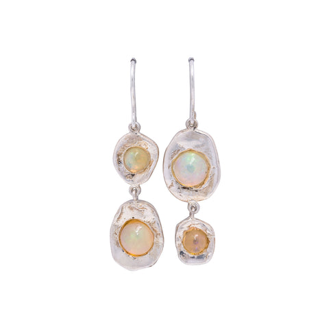 Opal Double-Drop Earrings