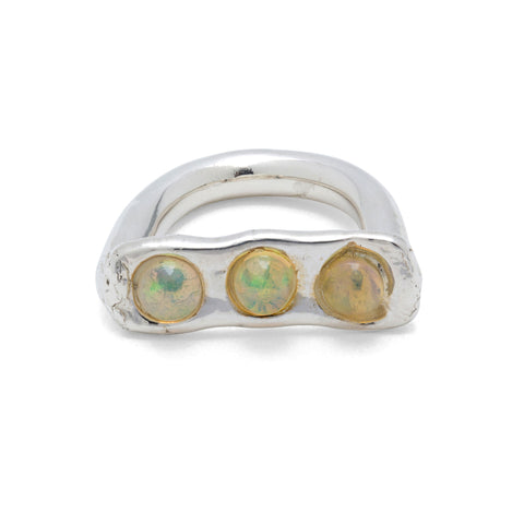 opal ring designed in NYC