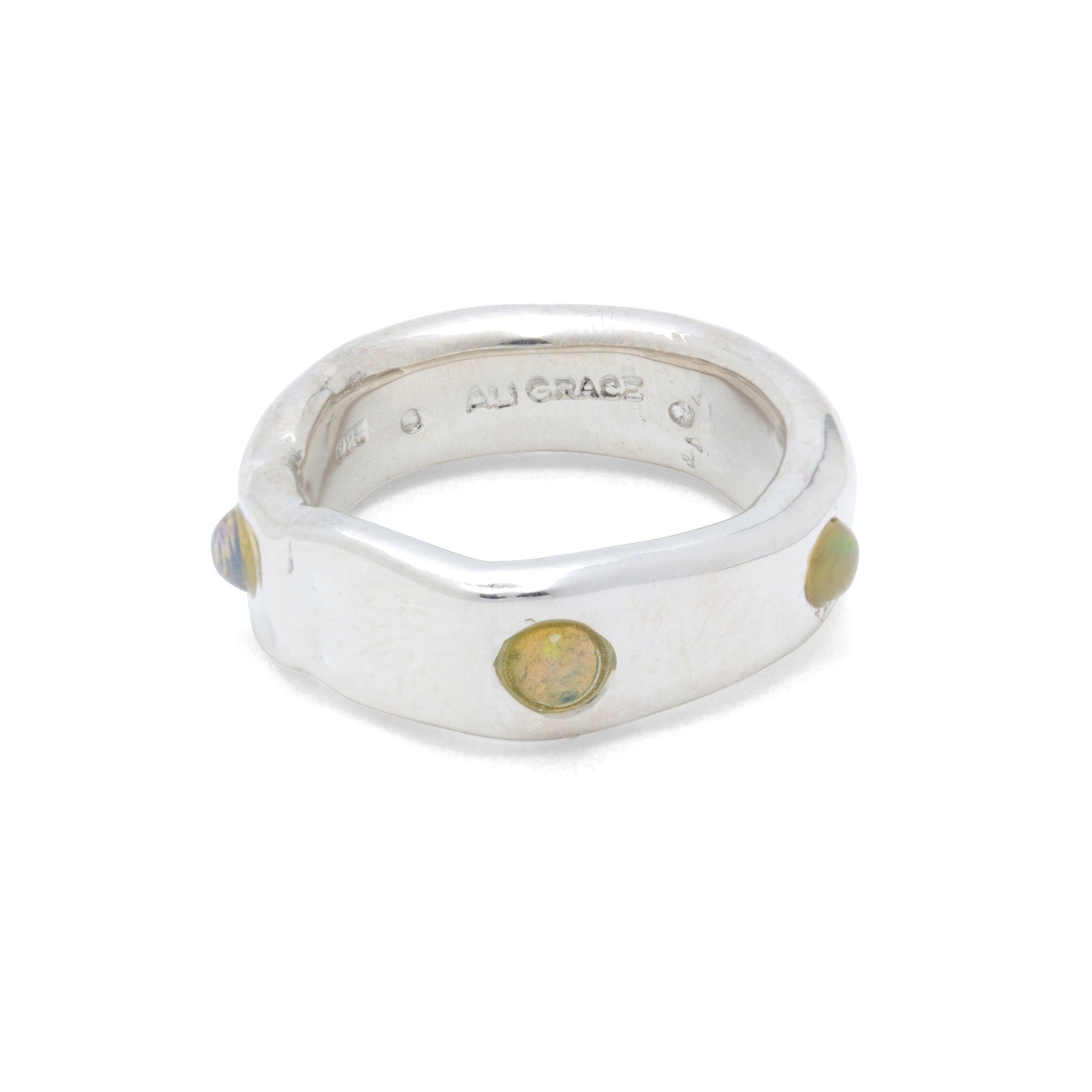 opal ring made in New York City