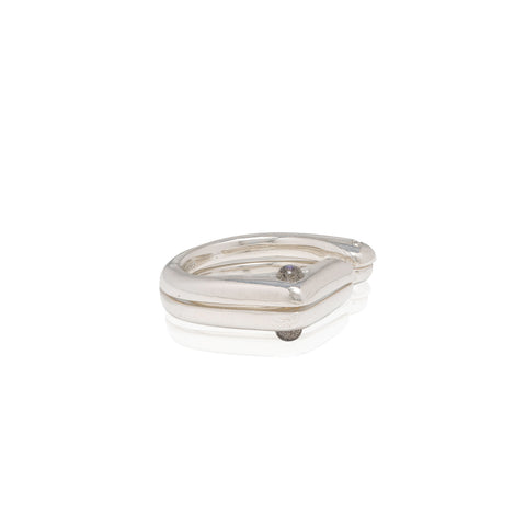 friendship split ring set with diamonds