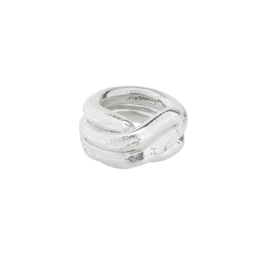 Sterling Wide Pointed Ring