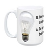 Agile Coach Light Bulb Joke - Acceptance Tests Mug