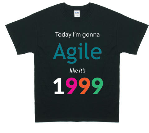 Agile Like It's 1999 (Black)
