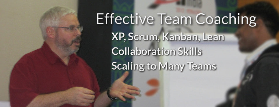Agile Team Coaching - XP, Scrum, Lean Principles, Effective Product Management, Scaling to Many Teams
