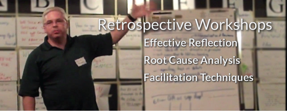 Retrospective Workshops - Effective Reflection, Root Cause Analysis, Facilitation Techniques