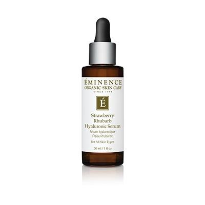 Eminence Organics Strawberry Rhubarb Hyaluronic Serum 1oz