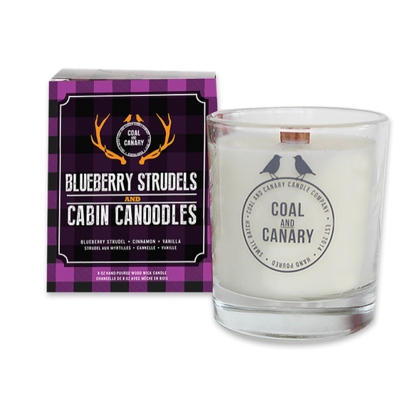 Blueberry Strudels & Cabin Canoodles Candle by Coal & Canary