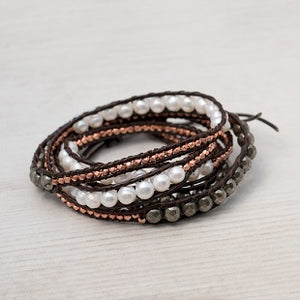 Harper Wrap Bracelet by Glee Jewelry