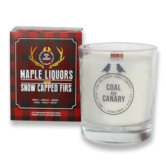 Maple Liquors & Snow Capped Firs Candle by Coal & Canary