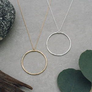 Round Necklace by Glee Jewelry