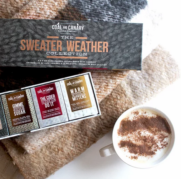 Sweater Weather Box Set by Coal & Canary