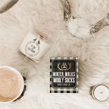 Load image into Gallery viewer, Winter Walks & Wooly Socks Candle by Coal & Canary