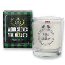 Load image into Gallery viewer, Wood Stoves & Fire Merlots Candle by Coal & Canary