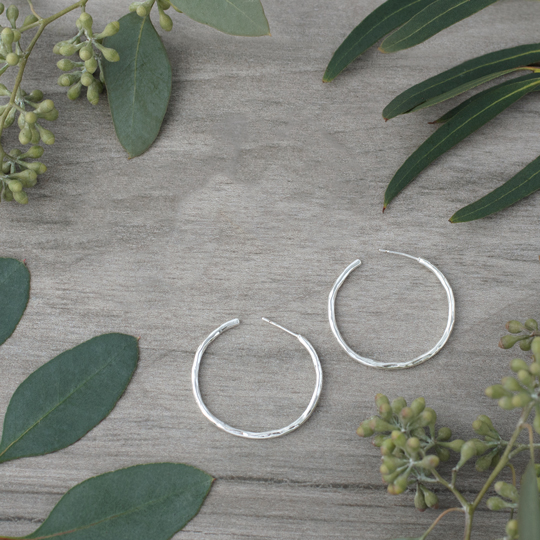 Classic Hoop by Glee Jewelry