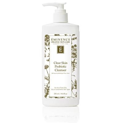 Eminence Organics Clear Skin Probiotic Cleanser 8.4oz