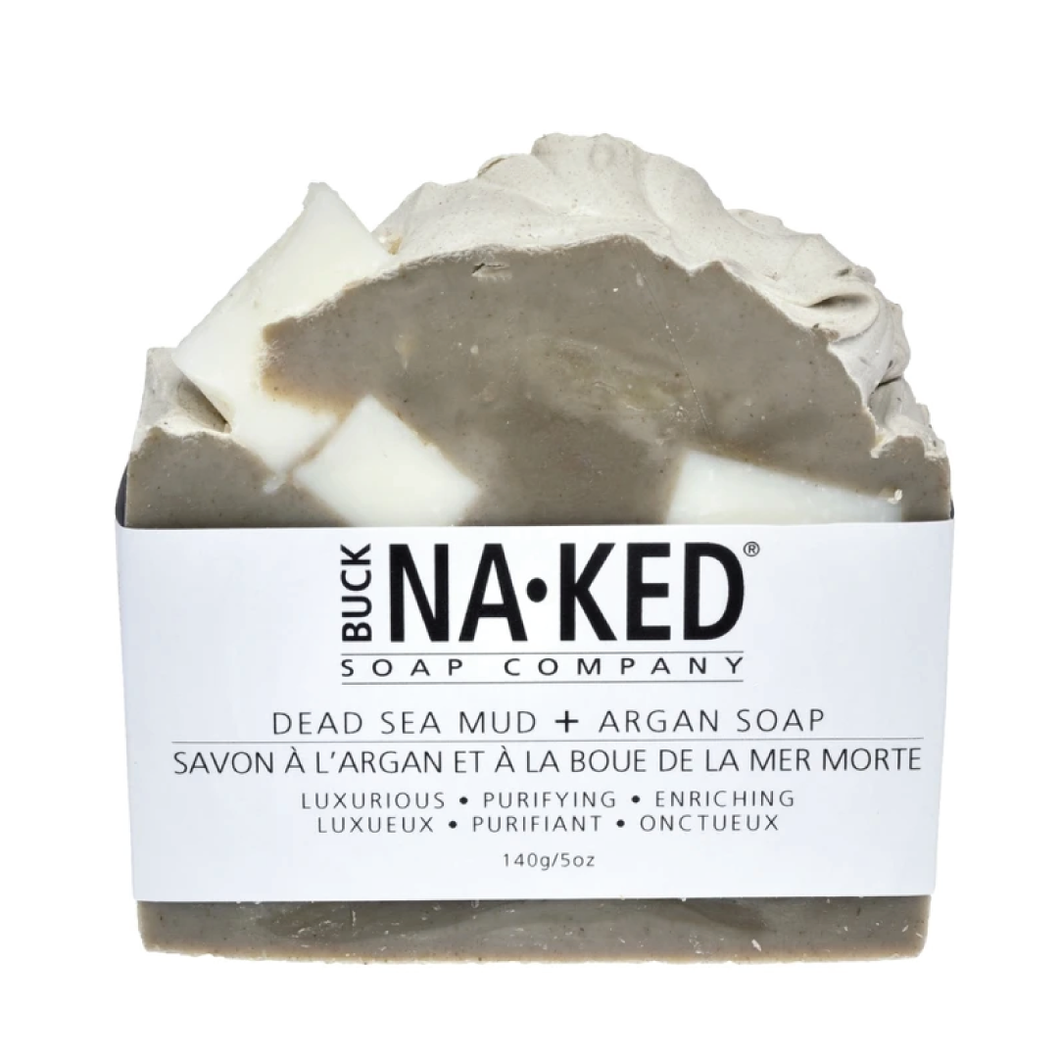 Buck Naked Dead Sea Mud & Argan Hand Soap