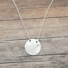 Load image into Gallery viewer, Disk Necklace by Glee Jewelry