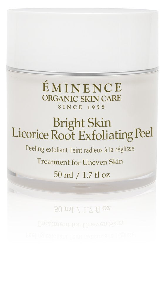 Eminence Organics Bright Skin Licorice Root Exfoliating Peel   1.7oz