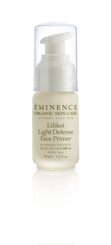 Eminence Organics Lilikoi Light Defense Face Primer SPF 23 1.2oz