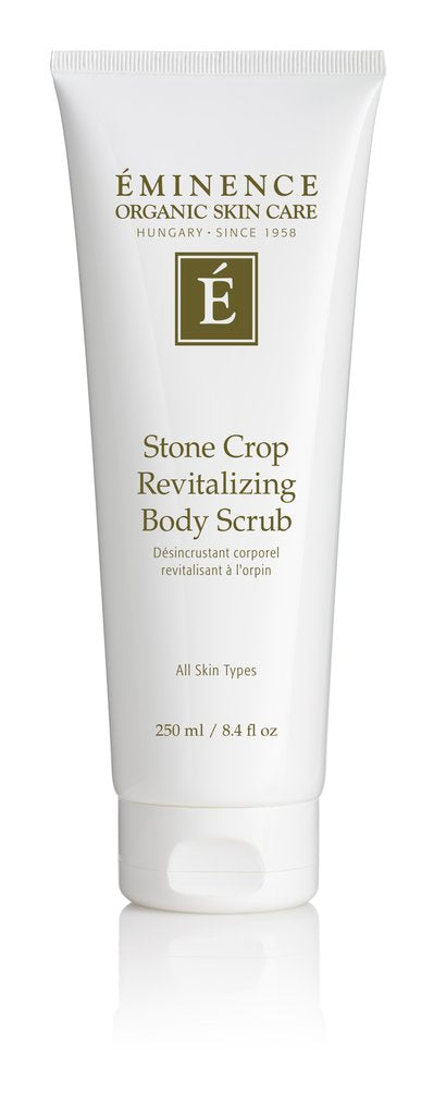 Eminence Organics Stone Crop Revitalizing Body Scrub 4oz