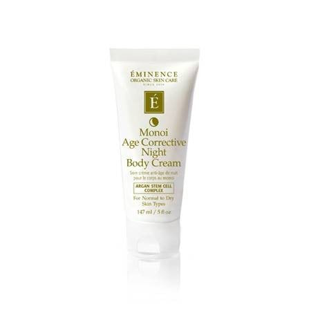 Eminence Organics Monoi Age Corrective Night Body Cream 5oz
