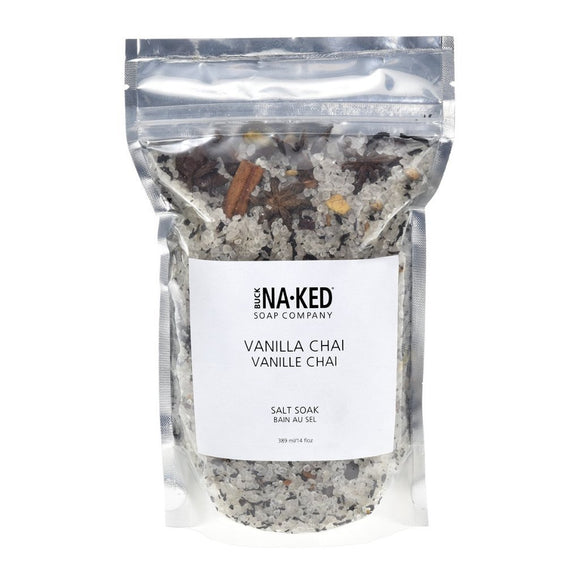 Buck Naked Vanilla Chai Salt Soak