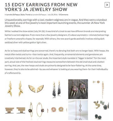 Hannah Blount Jewelry | Indesign.Jewelry