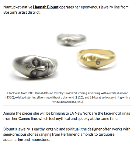 Hannah Blount Jewelry | National Jeweler