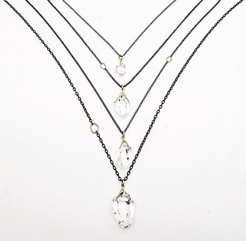 HannahBlountJewelry-SticksAndStonesCollection-HerkimerDiamondJewelry-Necklaces