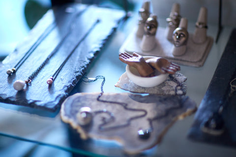 Hannah Blount Jewelry Studio Tour | Photography by Steph Larsen