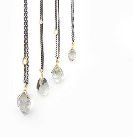 Hannah Blount Jewelry | Fine Metals | Oxidized Silver Jewelry