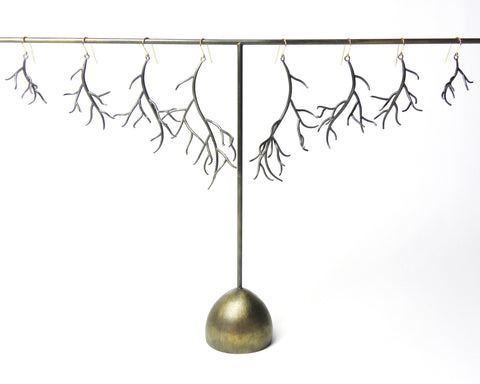 Branch Earrings | The Waiting Collection by Hannah Blount Jewelry | Fine, Handcrafted Jewelry