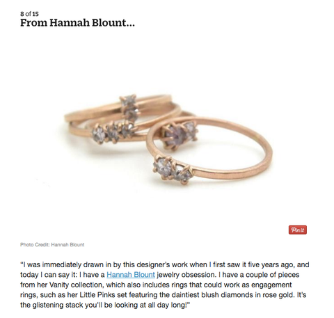 Hannah Blount Jewelry for About.com by A Thousand Facets