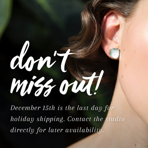 Hannah Blount Jewelry | Handmade Holiday | 12/15 ground shipping