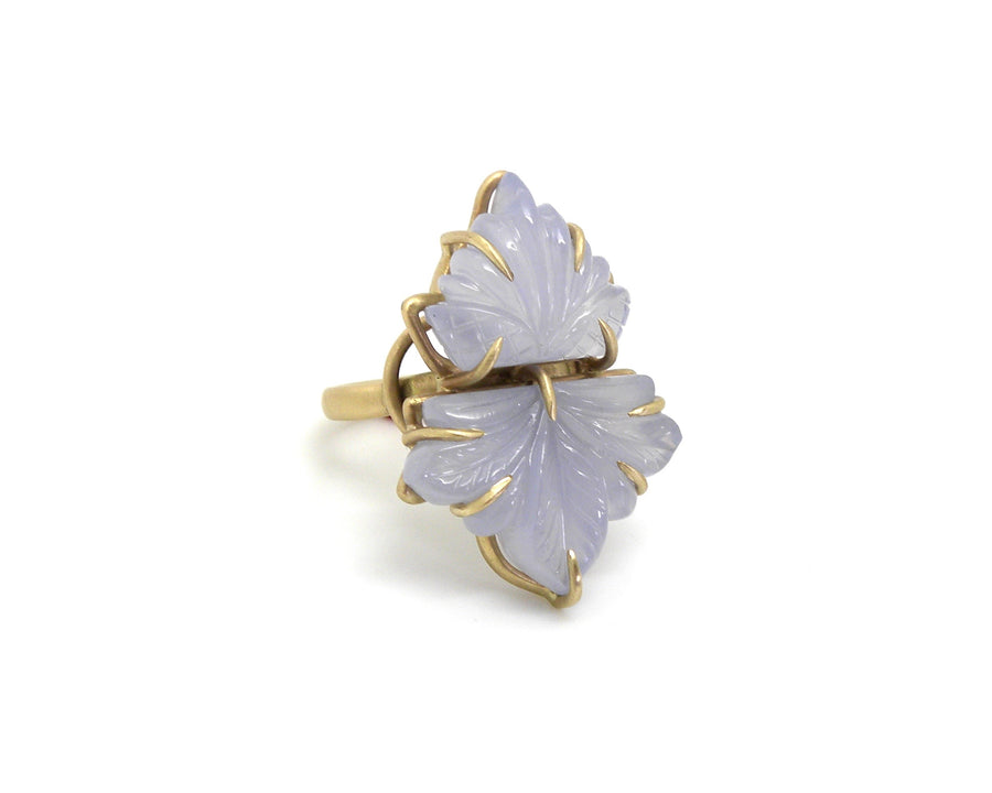 Briar Rose Chalcedony Vanity Ring-Hannah Blount Jewelry