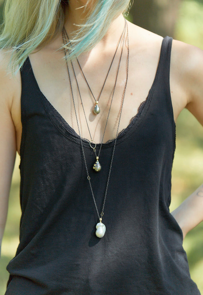 Tahitian Pearl Lady Ruthie B. Necklace-Hannah Blount Jewelry