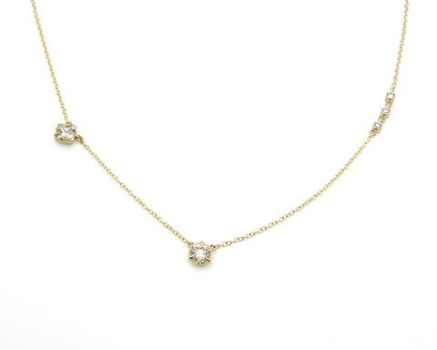Custom Heirloom Diamond Necklace-Hannah Blount Jewelry